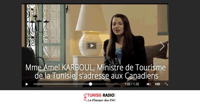 Amel Karboul s'adresse aux Canadiens