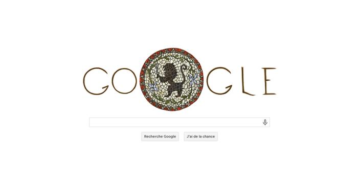 Google fête l'indépendance de la Tunisie