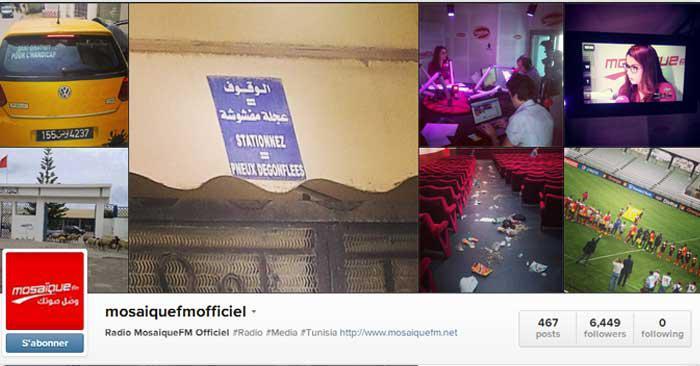Le TOP 5 des photos du jour de Mosaique FM sur instagram!