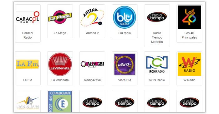 Les radios en Colombie