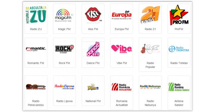 Les radios en Roumanie